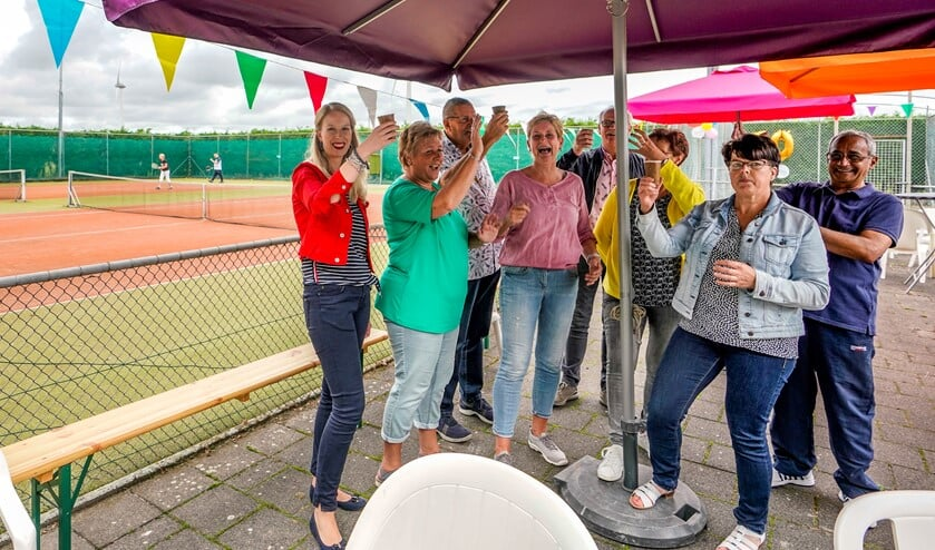 Het jubileum werd uitgebreid gevierd. Foto: Foto-Ok.nl