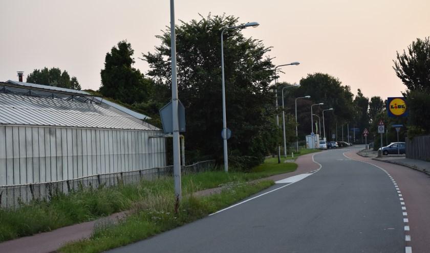 Bewoners van de Madeweg in Monster zien de huisvestiging van arbeidsmigranten tegenover supermarkt Lidl niet zitten.