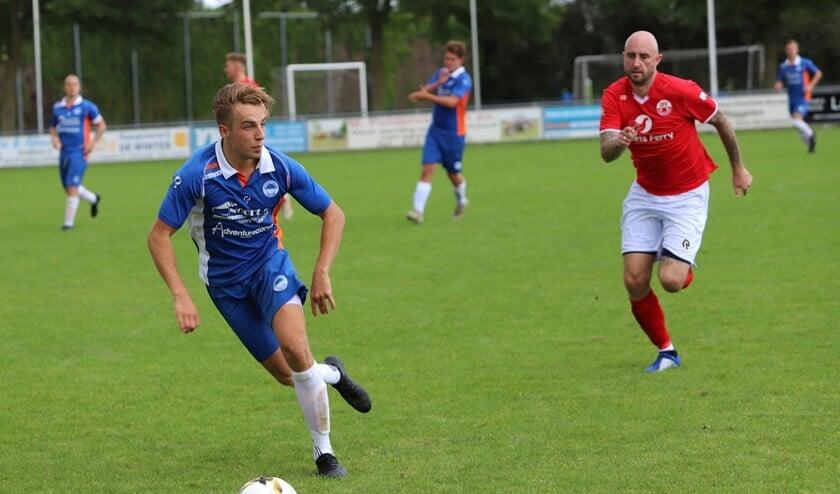 Zuidland speelde zaterdag met 1-1 gelijk in het duel met Oud-Beijerland voor de districtsbeker. Fotografie: Peter de Jong