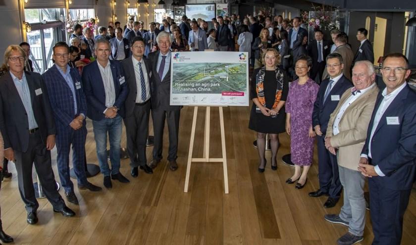 De ondertekening vond donderdag plaats tijdens een seminar in Rotterdam.