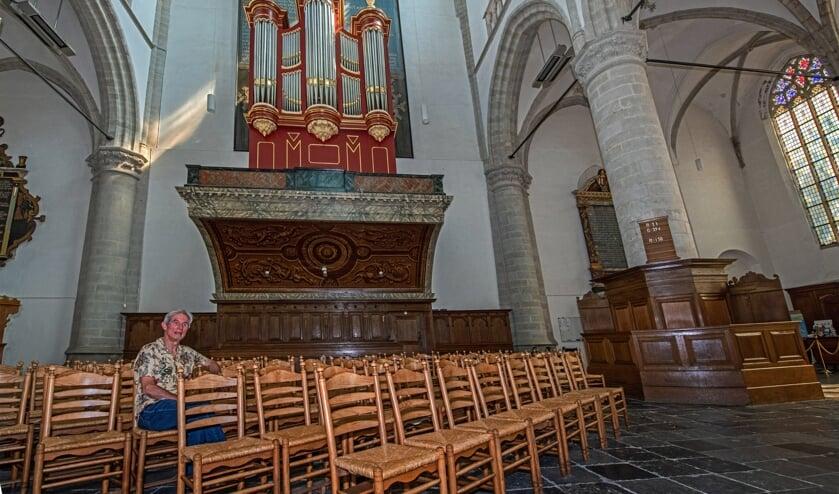 André Kok van Stichting Kunst en Cultuur Brielle (Foto: Jos Uijtdehaage)