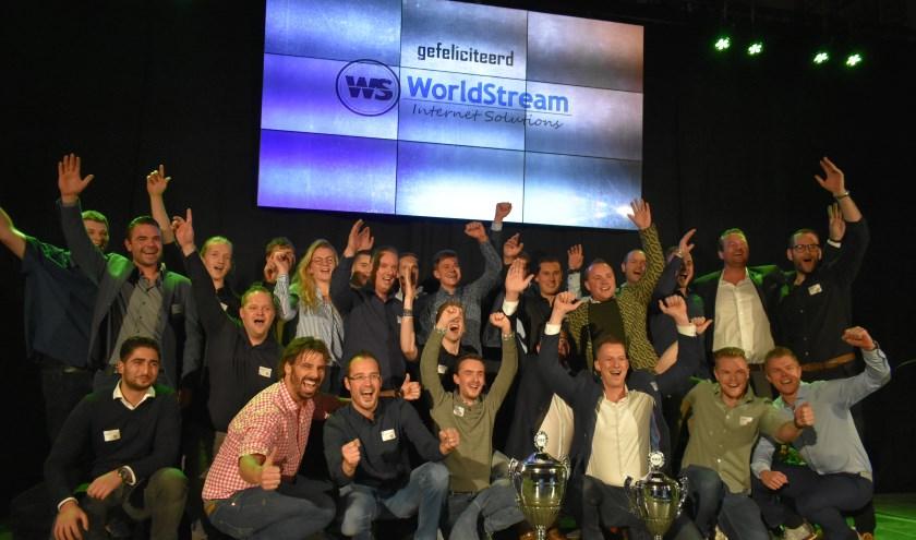 De winnaar van 2018:  WorldStream.