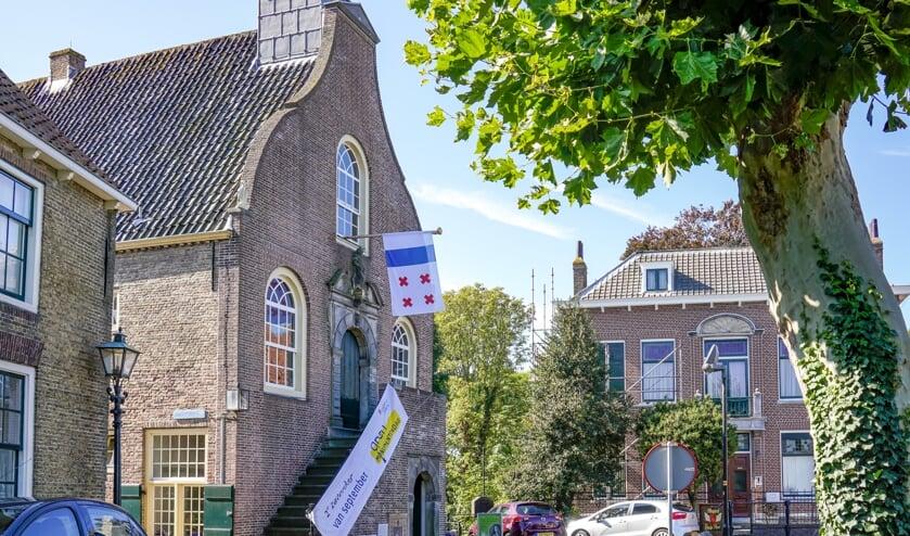 Het stadhuis in Geervliet.