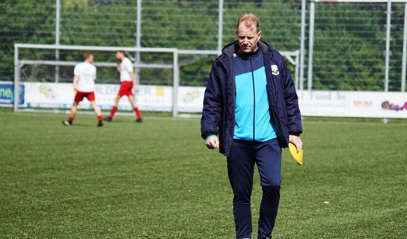 Trainer John Kleijn zag zijn ploeg nipt verliezen van MSV'71(foto Marjo Smit).
