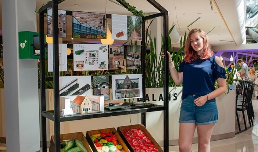 Een stem uitbrengen op Roos kan via www.woonmallalexandrium.nl/stem-op-uw-favoriete-ontwerper.