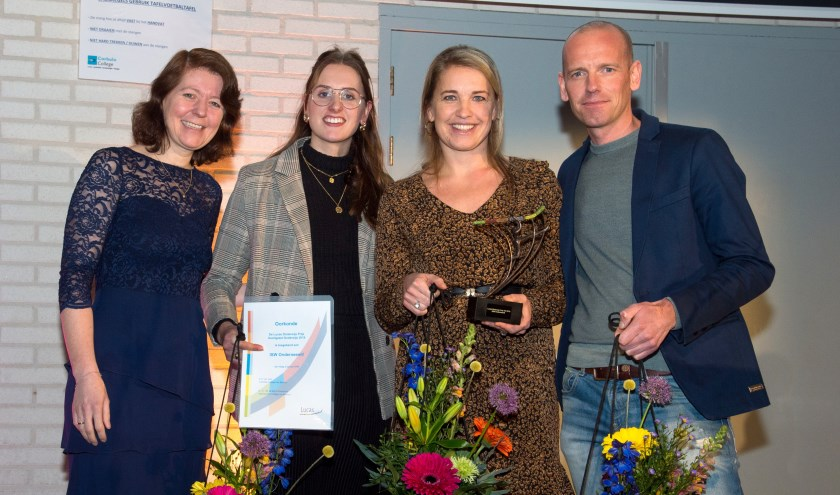 De onderwijsprijs wordt jaarlijks uitgereikt aan innovatieve projecten op scholen die verbonden zijn aan Stichting Lucas Onderwijs.