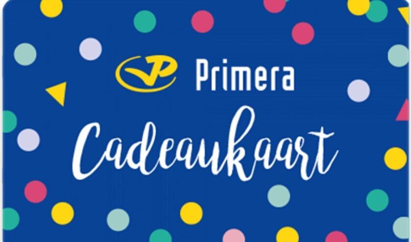 De Primera Cadeaukaart zal vast goed worden besteed!