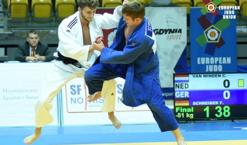 Judoka Coen van Winden is één van de kanshebbers op de titel 'Sportman van het Jaar'.