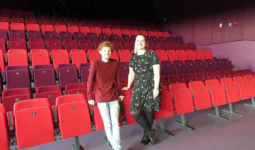 Mario Cramer en Nathalie Lemmen in het BREStheater
