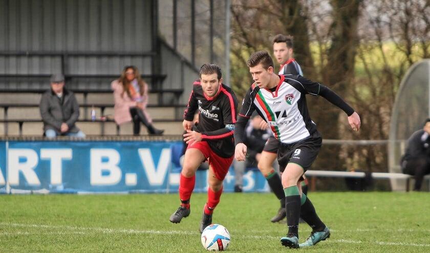 GHVV wist zaterdag bij Rhoon niet te winnen. De thuisploeg zegevierde met 2-0 op de ploeg van John Stougje.