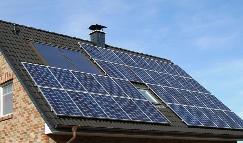 <p>Een online webinar over zonnepanelen</p>