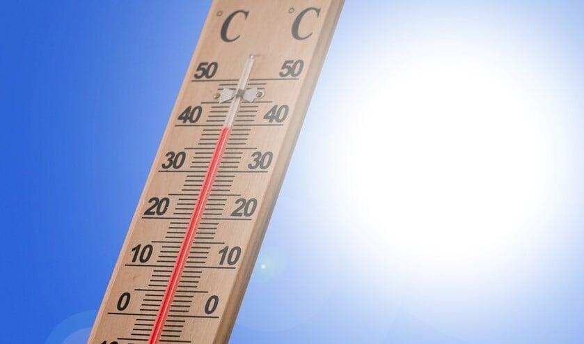 In Nederland is de gemiddelde temperatuur rondom scholen 31,7 C in de zomermaanden.