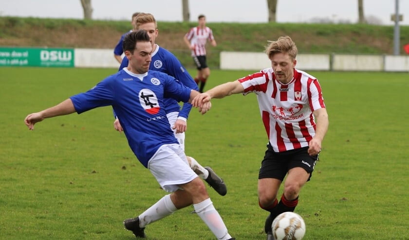 Hekelingen kwam zaterdag in het duel met Goudswaardse Boys tot een 2-1 zege.