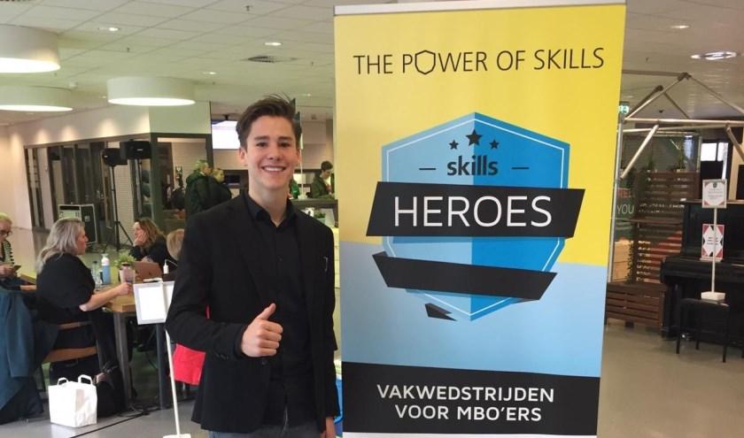 Renzo Grootscholten, finalist Skills Heroes.