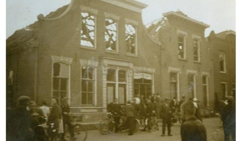 1941: de Ring in Zuidland.