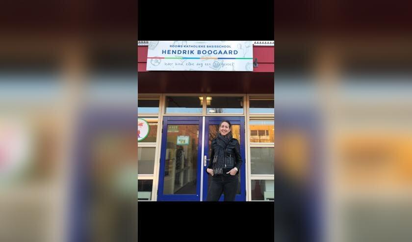 Ilona is als zij-instromer aan de slag op  basisschool Hendrik Boogaard.