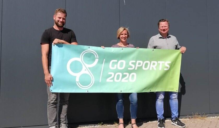 Het Corona-virus zorgt ervoor dat het evenement GO Sports 2020 wordt afgelast, rechts Ben de Neef.