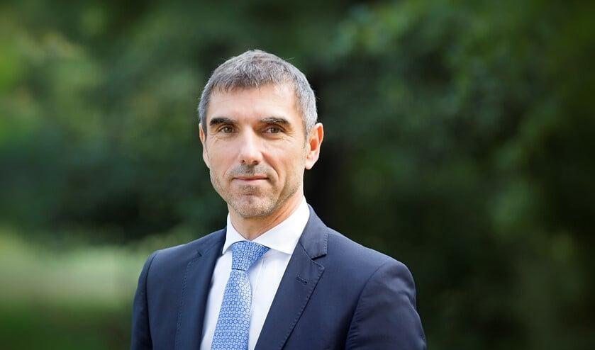 Paul Blokhuis, staatssecretaris van Volksgezondheid, Welzijn en Sport Den Haag, 31-08-2018