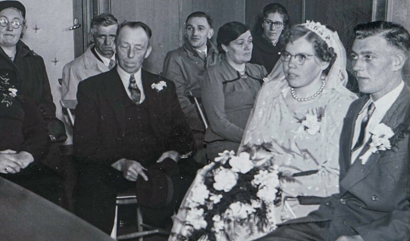 Alweer 65 jaar geleden gaven Klaaske en Jelle elkaar het ja-woord.
