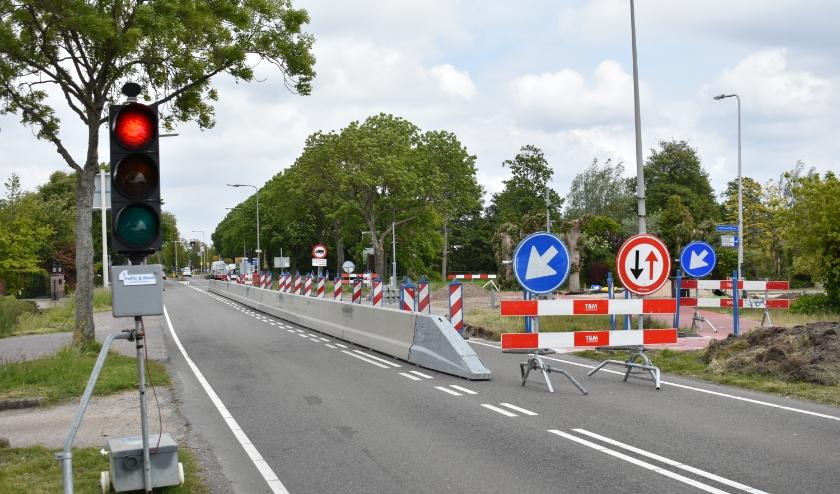De onveilige fietskruising Middel Broekweg – Harteveldlaan wordt momenteel aangepakt.