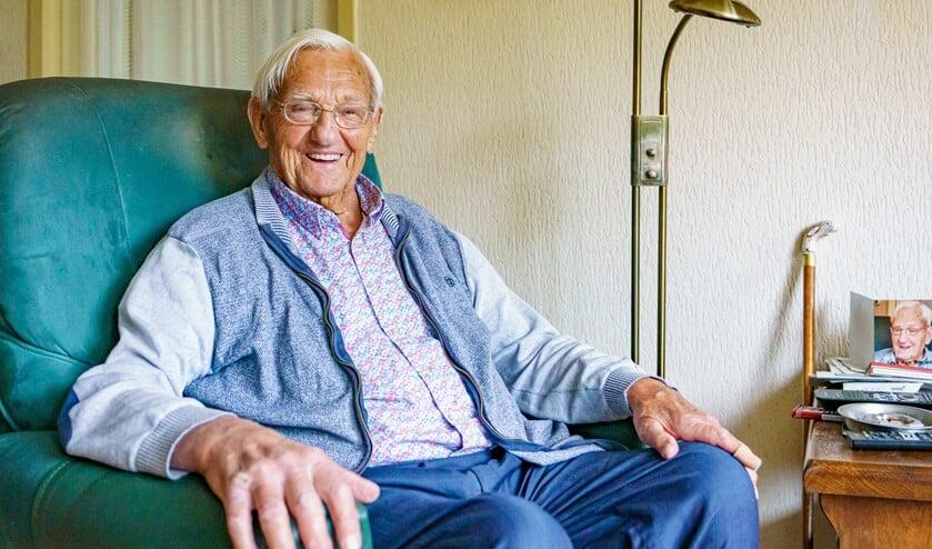 Leendert van Marion viert vandaag z'n 100ste verjaardag.