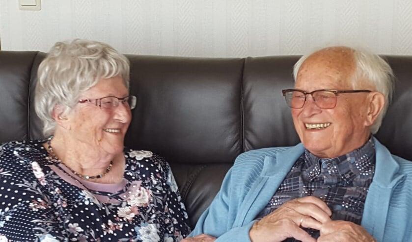 Ina en Ab zijn al 70 jaar een paar.