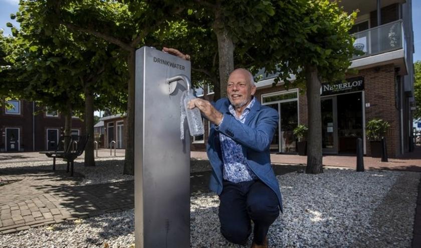 Binnenkort heeft Westland in totaal elf watertappunten. Foto: (PR/Thierry Schut)