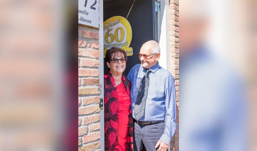 Agnes en Cees Wijn waren op 21 juni 60 jaar getrouwd!