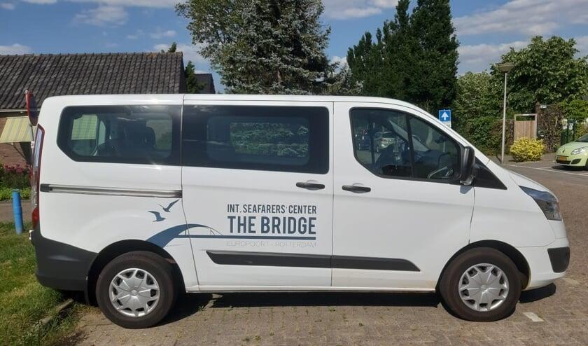 De bus van The Bridge is al helemaal ingericht volgens de richtlijnen van het RIVM