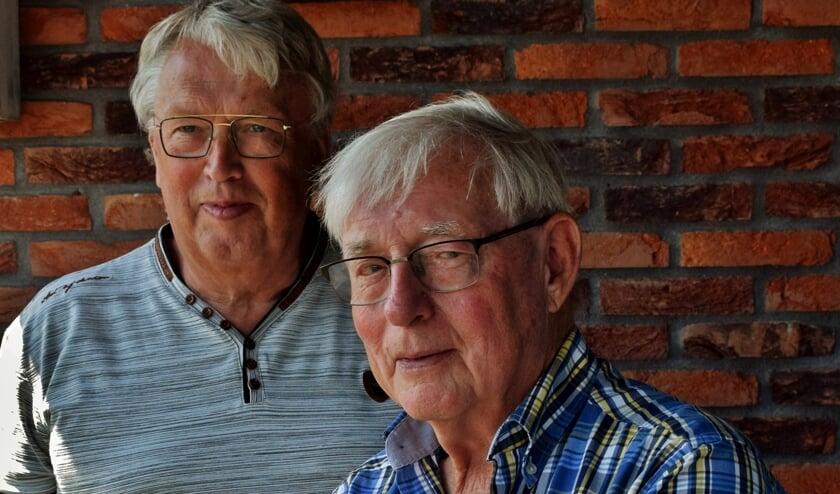 Links Dick Monster, rechts Bart Wassenaar