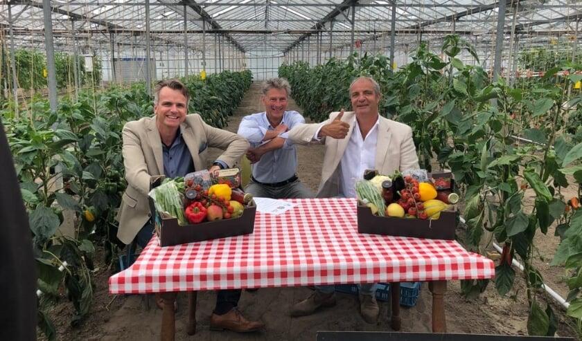 Wouter Kuiper, KUBO, Jan Vellekoop, PDI en Flip van der Eijk van BoereGoed