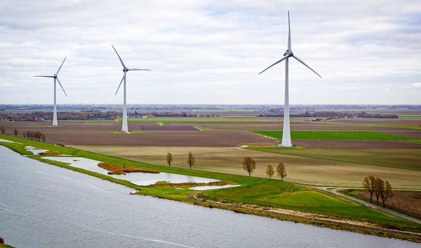 <p>Windpark Spui.&nbsp;</p>