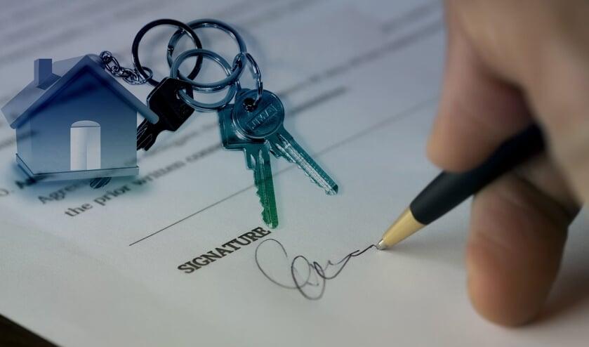 <p>Denk goed na bij het verkopen van uw huis.</p>
