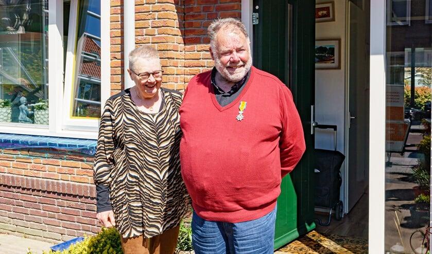 <p>Jan-Pieter Baan werd verrast met een Koninklijke onderscheiding.</p>