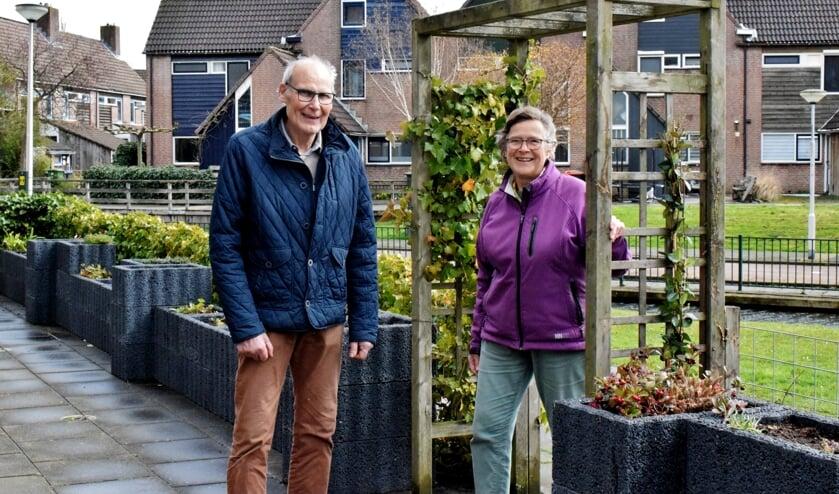 <p>Irene Wiersma en Wim Dingemans zijn groen-vrijwilligers in hart en nieren</p>