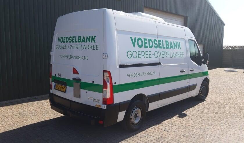 <p>De nieuwe koelbus van de Voedselbank kon d.m.v. crowdfunding worden aangeschaft.</p>