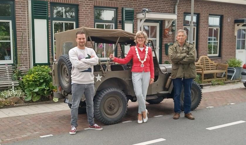 <p>Robert van Es (r) uit Middelharnis</p>