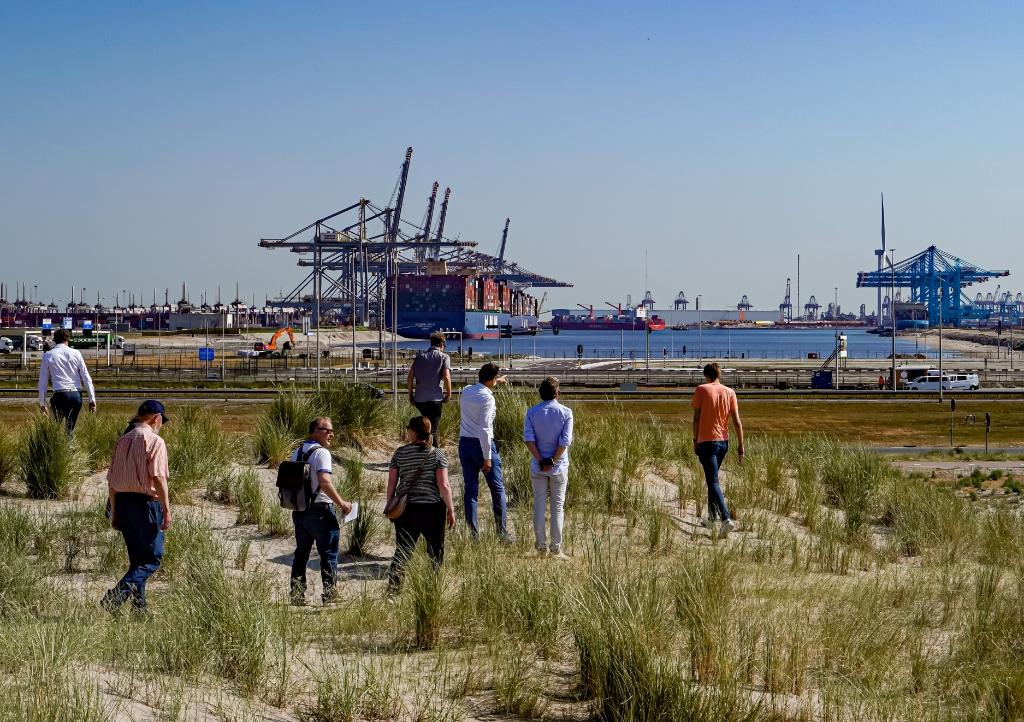 Op deze locatie komt het Havenervaringscentrum. Foto: Foto-OK.nl © WeekbladWestvoorne.nl