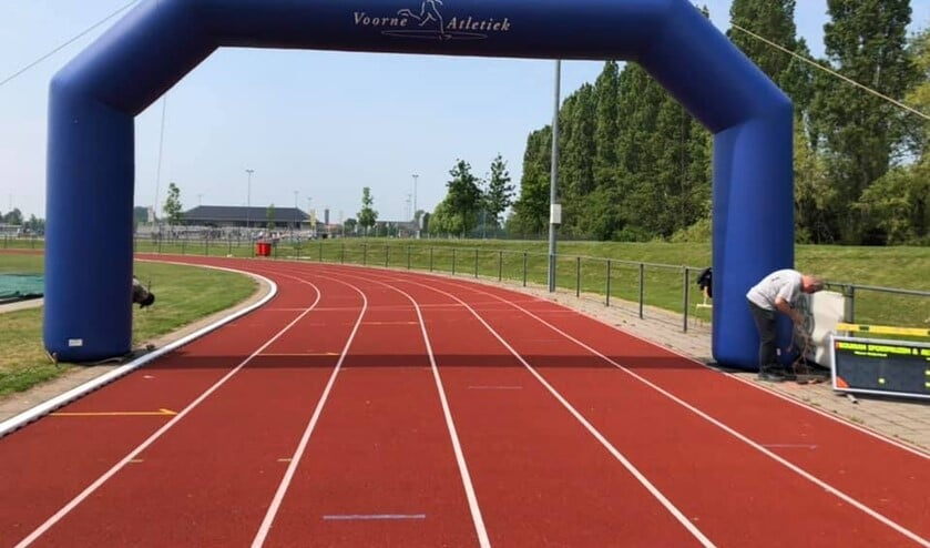 <p>Voorne Atletiek heeft een prachtige eigen atletiekbaan</p>
