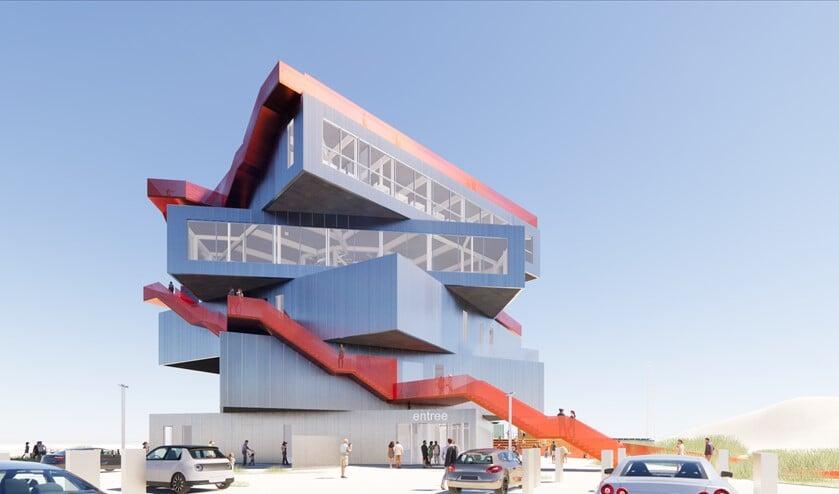 <p>Het ervaringscentrum kijkt over alle delen van de haven uit.&nbsp;</p>