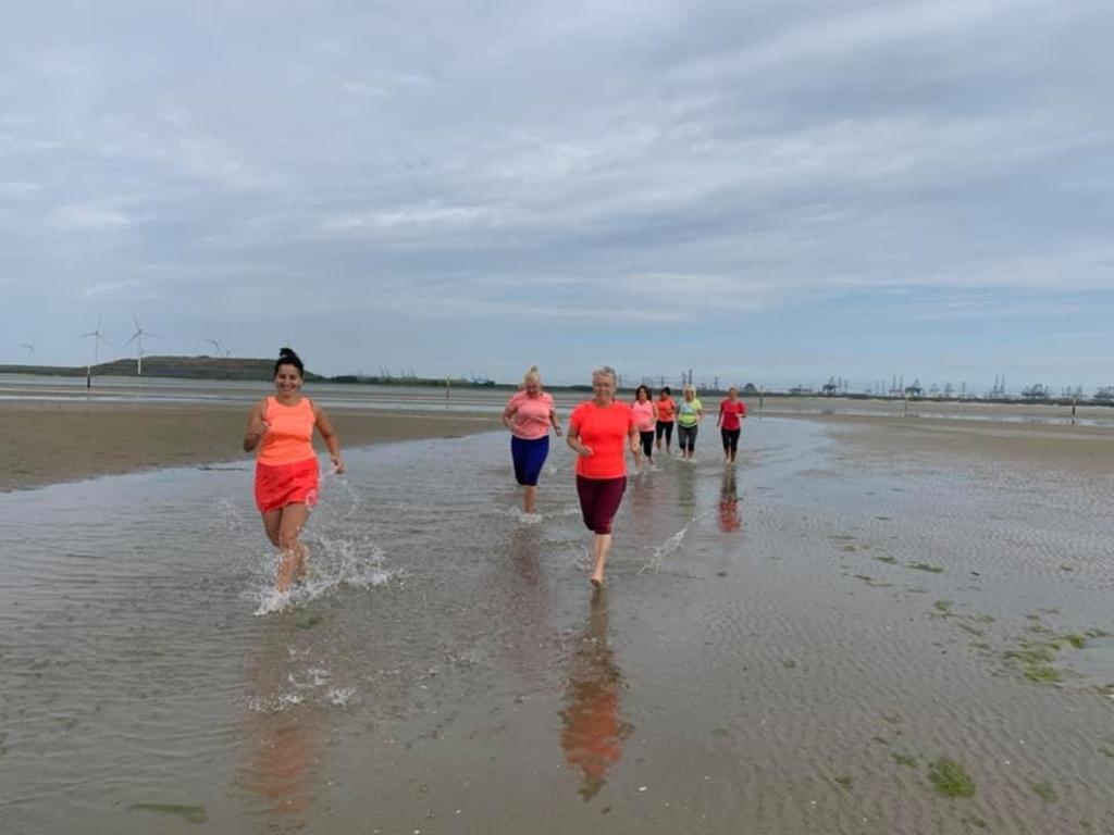 De trainingen vinden ook plaats in het buitengebied  © BrielsNieuwsland.nl