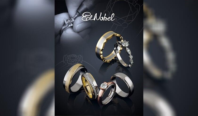 <p>Ed Nobel staat bekend om de custom made trouwringen.</p>