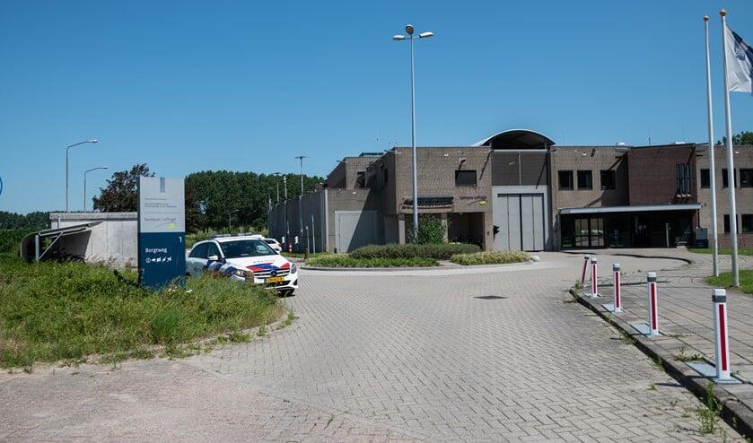 Steekpartij bij jeugdgevangenis de Hartelborgt