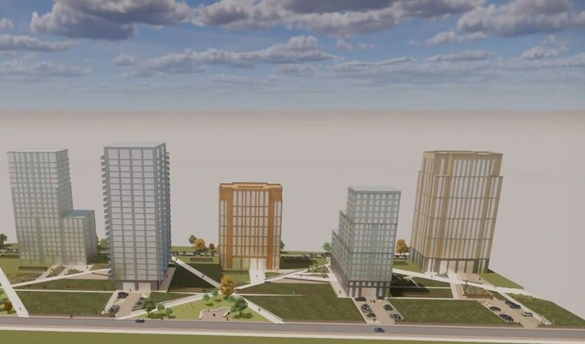 <p>Dijkzone 2: de een is blij met de bouw van appartementen, de ander ziet liever dat mensen meer ruimte hebben.</p>
