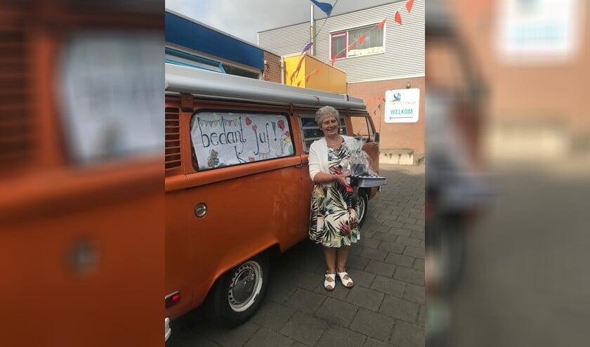 <p>Juf Anneke van Bleek</p>