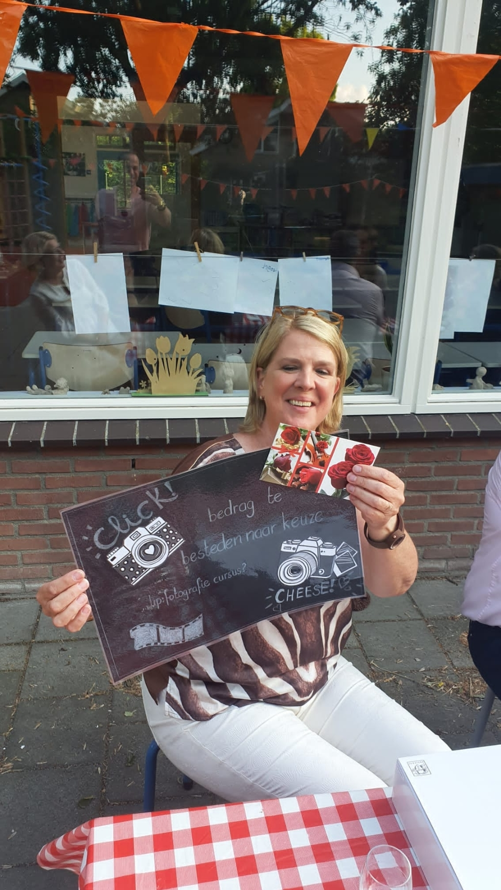 Juf Karin van den Berg  © hetkompasonline.nl