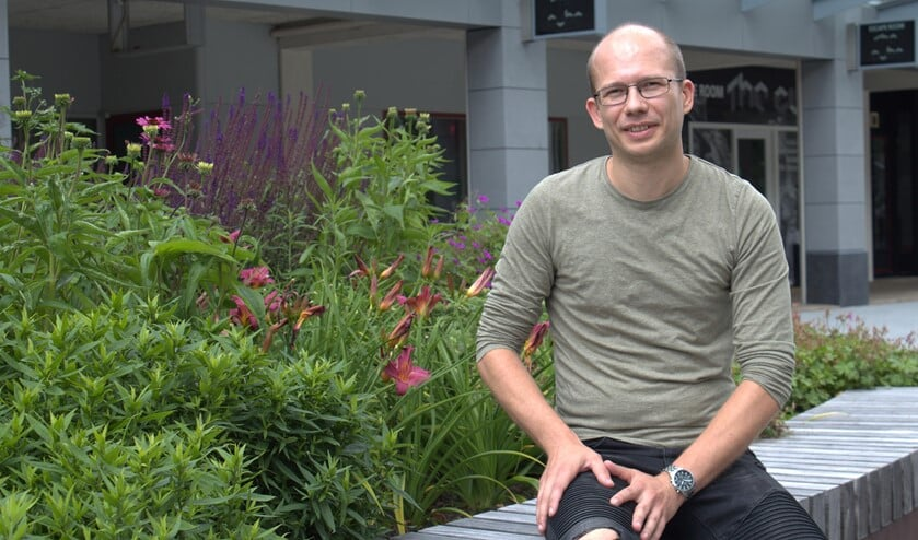 <p>Michiel van der Kooij de nieuwe voorzitter van winkeliersvereniging De Struytse Hoeck.&nbsp;</p>