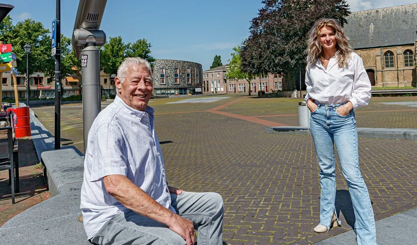 <p>Fred en Valerie hopen op een vol marktplein. Foto: Foto-OK.nl</p>
