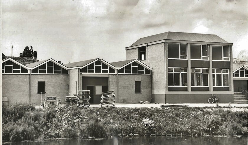 Dit gebouw stond niet in de binnenstad van Den Briel