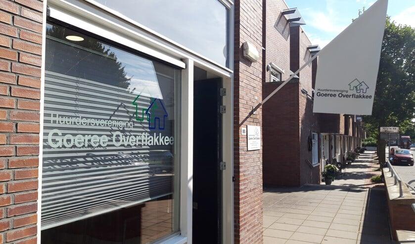 <p>Het nieuwe kantoor van de huurdersvereniging Goeree-Overflakkee aan de Anton Coolenstraat werd op 20 maart 2019 officieel in gebruik genomen.</p>